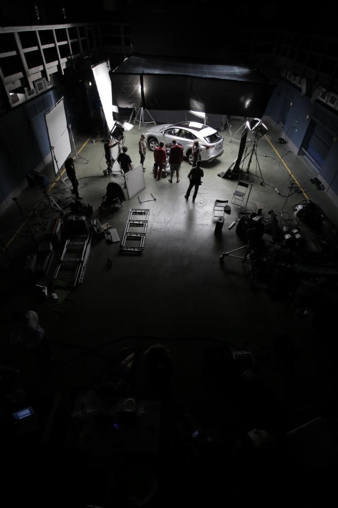 Съемки Lexus NX